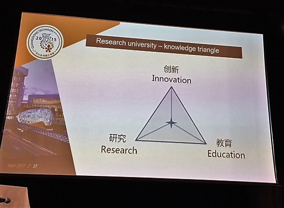 Technion approach combining Research, Education and Innovation