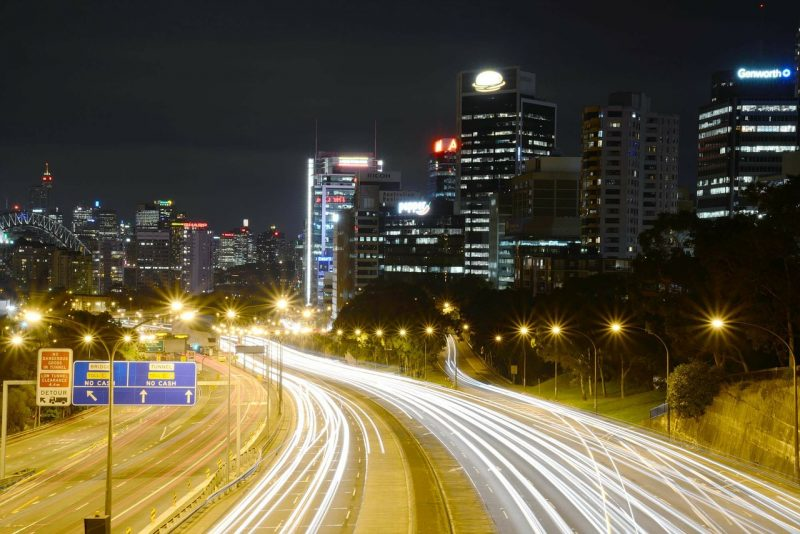 North Sydney by night, Patty Jansen