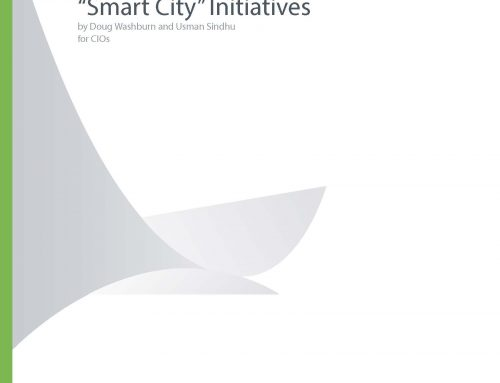 "Helping CIOs Understand ""Smart City"" Initiatives"