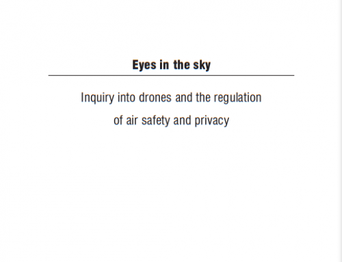 Eyes in the sky: Gov Inquiry